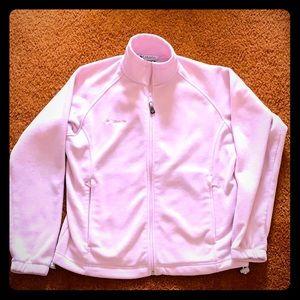 Columbia Light Pink Fleece M